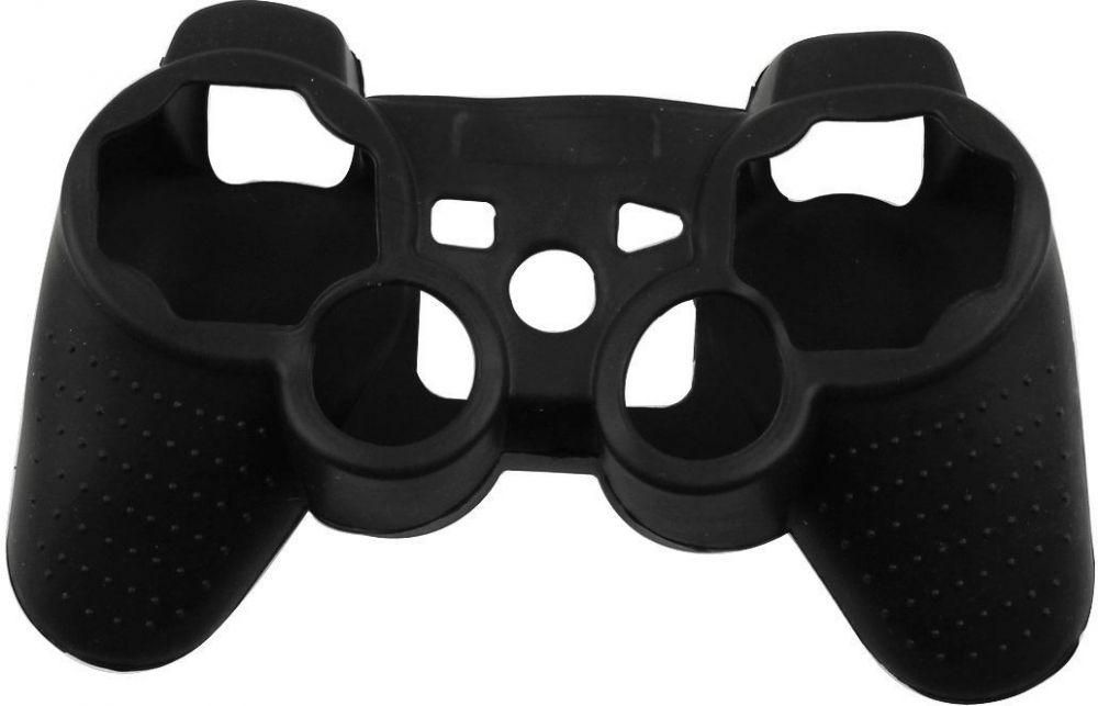 play station 3 cover controller silicon - black