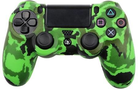 Playstation4 controller skin cover+ grips -green  camouflage