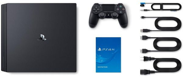 Sony PlayStation 4 Pro Console - Black - 1TB + FIFA 18 Ultimate Team