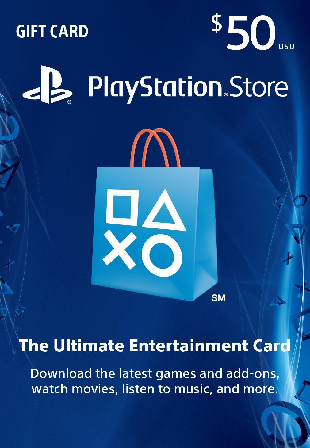 PlayStation Store ($50 US) -Digital Code