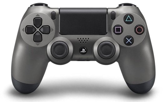 DualShock 4 Wireless Controller for PlayStation 4 (Steel Black)