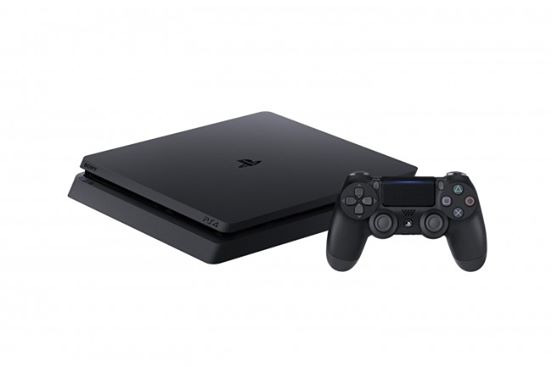 Sony-PlayStation 4-Slim-500 G.B-R2- Black-with bag- slim