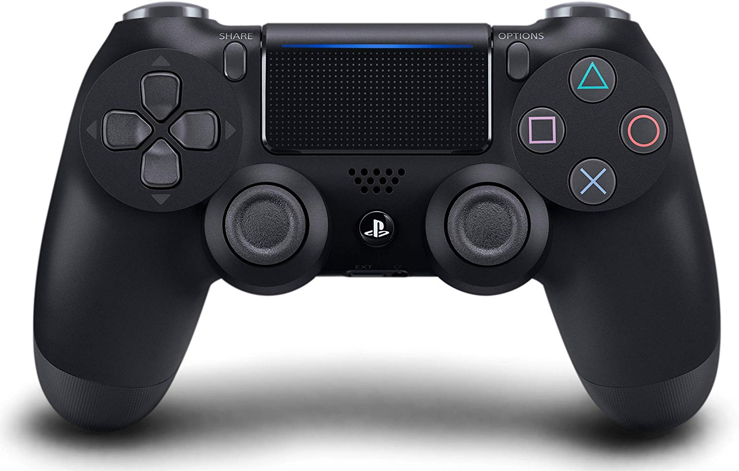 DualShock 4 Wireless Controller for PlayStation 4 V2 (Jet Black)