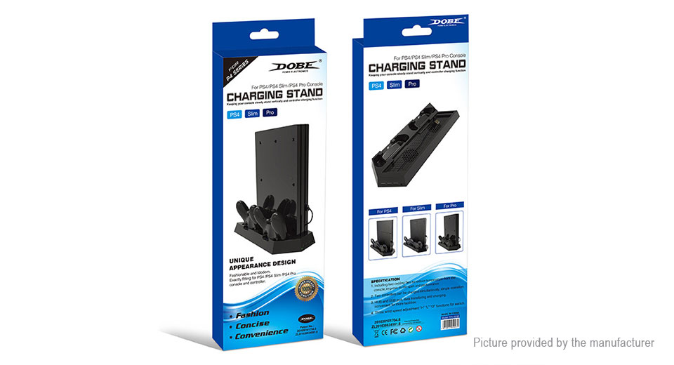 Vertical Charging Stand for PS4/PS4 Slim/PS4 Pro
