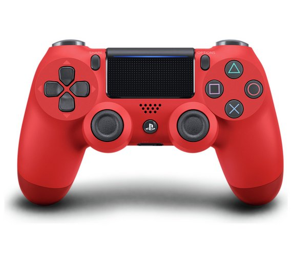 DualShock 4 Wireless Controller for PlayStation 4  Copy (Magma Red)