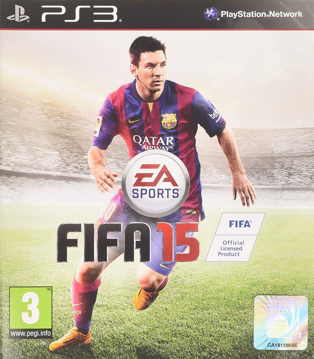 FIFA 15 PS3 -USED