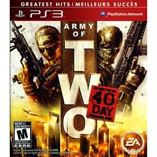 ARMY OF TWO 40 DAY USED