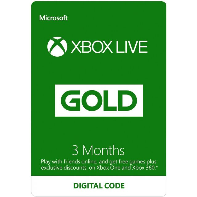 Xbox Live Gold 3 Months Global