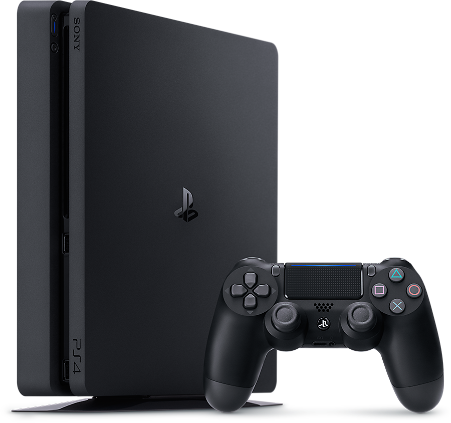 Sony- PlayStation 4 Console 500 GB- Slim- R2 - Black