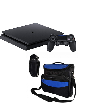 Sony-PlayStation 4-Slim-500 G.B-R3- Black-with bag slim