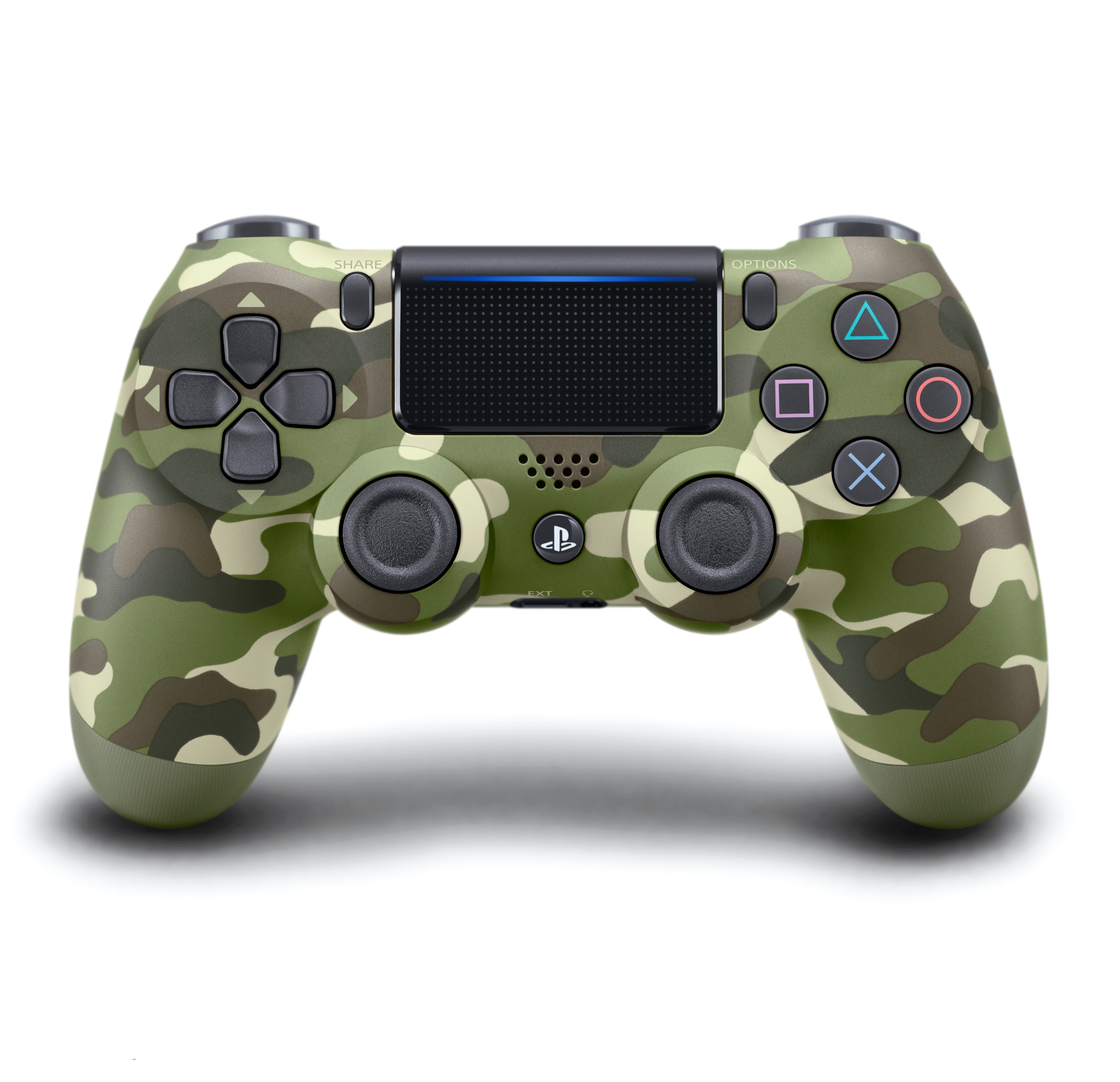 DualShock 4 Wireless Controller for PlayStation 4 -First High Copy  (Green Camouflage)
