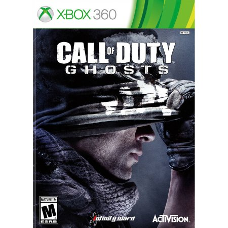 Call Of Duty Ghosts Xbox 360 Game Box
